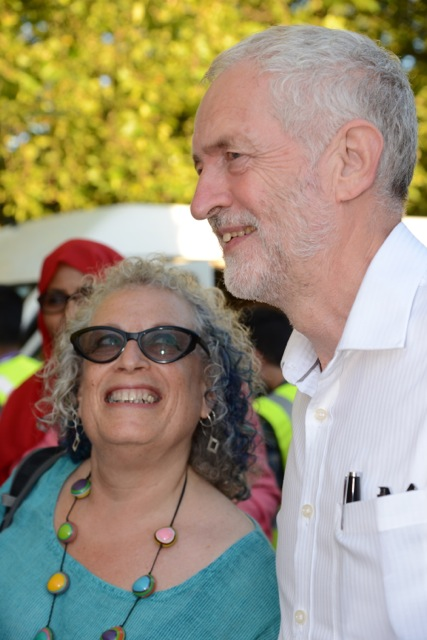 Jewish Socialists at Jeremy for Labour Black and Minority Ethnic Rally