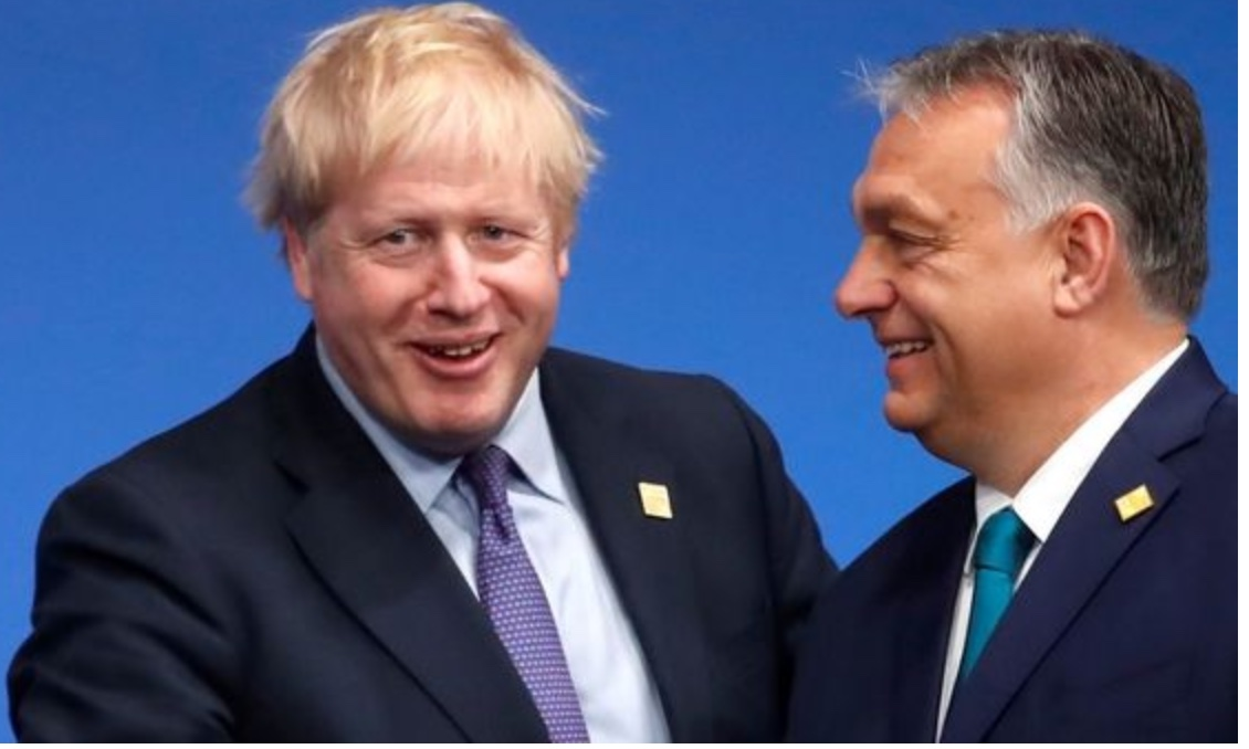 Partners in hate crime: Orban and Johnson